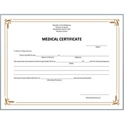 Fake Certified Medical Assistant Certificates Pictures To