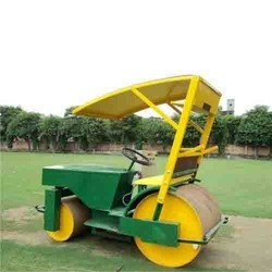 Pitch Roller Petrol Cum Electric Double 1.5 Ton