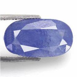 7.16 Carats Blue Sapphire
