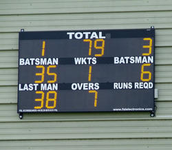 Wireless Cricket Scoreboard 22 Digits