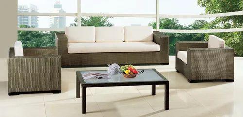 Outdoor Furnitures - Outdoor Living Room Sofa Manufacturer from Mumbai