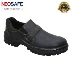 Slip On Safety Shoe With PU Sole Steel Toe