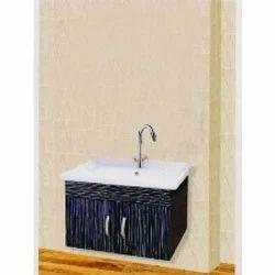 Model Double Mirrored Door Wall Mount Bathroom Cabinet Wooden Storage