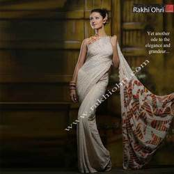 Embroidery Sequin Designer Sarees