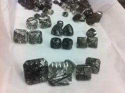 Black Rutile Gemstones