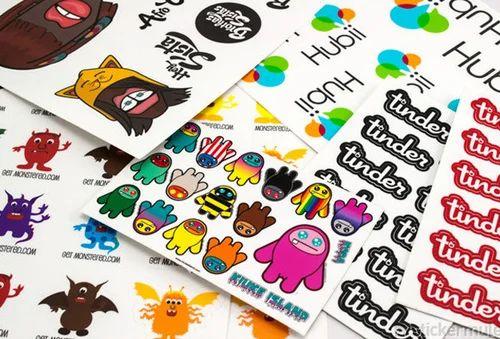 Custom sticker sheet
