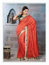 Banarasi Zari Jacquard Saree
