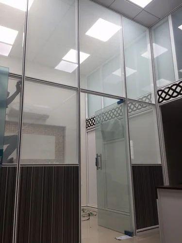 Modular Aluminium Glass Partition System