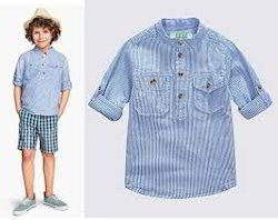 Chinese Collar Shirts For Kids