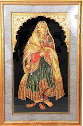 Maharani Paper Painting