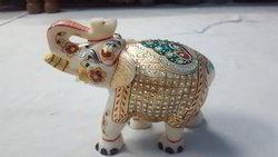 Marble Decorative Elephants