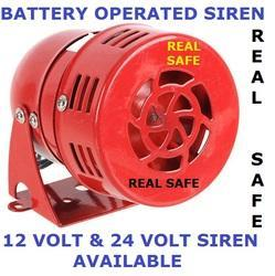 Battery Operated Siren