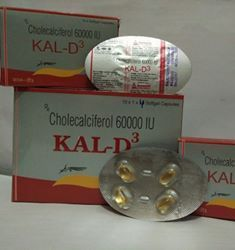 Cholecalciferol (Vitamin D3) IP 60000 IU