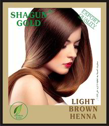 Natural Light Brown Hair Dyes Powder