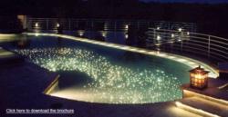 Optic Fiber Light for Swimming Pools