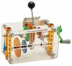 Gear Box Three Speed & Reverse Gear - Model