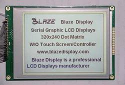 320x240 Graphic Display, Grey Mode