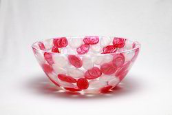 Prayosha Basket Pink and White Pearl Washbasin