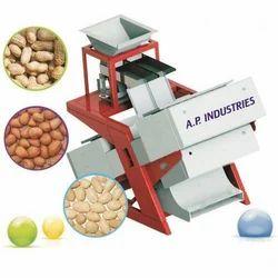 Cashew Nut Color Sorter Machine