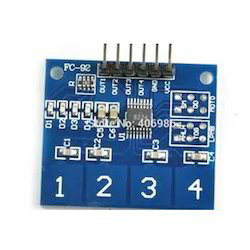 TTP224-Capacitive 4 Touch Sensor