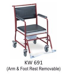 MS Commode Wheel Chair