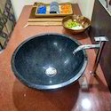 Black Granite Counter Top Basin