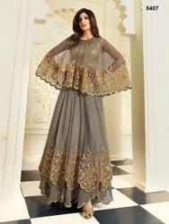 Heavy Long Anarkali Designer Suit Fancy Dresses