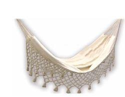 Farbic Hammock with Fringes