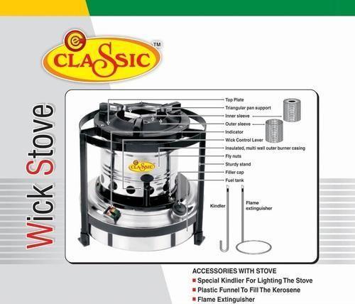 Quality Kerosene Wick Stoves