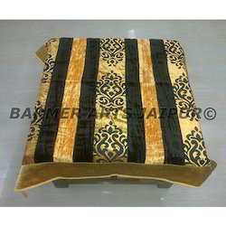 Designer Table Cover Brasso Velvet Patti