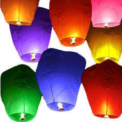 Colored Lantern Balloon