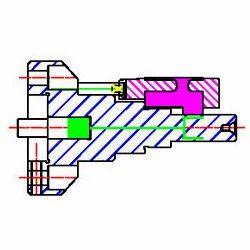 Compressor Rotor Turning Mandrel