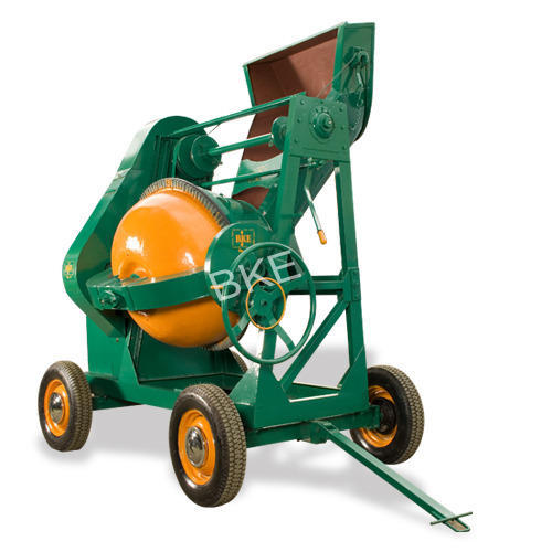 Concrete Mixer Machine - Mechanical Operated Hopper Type