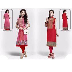 Stylish Silk Kurti