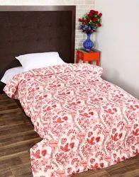 Handmade Printed Cotton Winter Jaipuri Razai Quilt