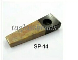 Fancy Soap Stone Smoking Pipe