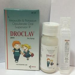 Amoxycillin and Clavulanic acid Dry Syrup (with Water)