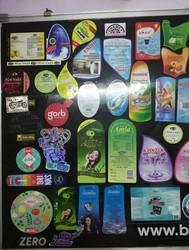 Multi Colour Stickers