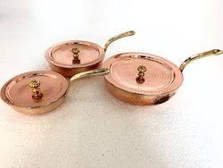 Copper Steel Mini Frypan Portion Dishes