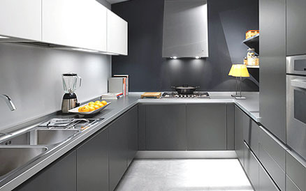 laminated kitchen cabinets - grey laminate kitchen cabinets