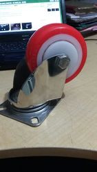 Stainless Steel PU Casters Wheels