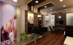Commercial Interior Designing & Decoration - Epoxy Painting Service ...