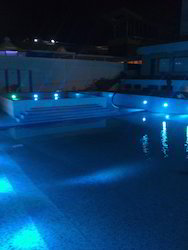 Under Water Light In Swimming Pool