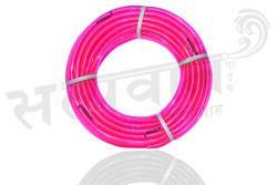 PVC Pink Color Transparent Garden Pipe