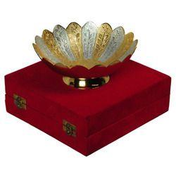 Brass Shaped Bowl