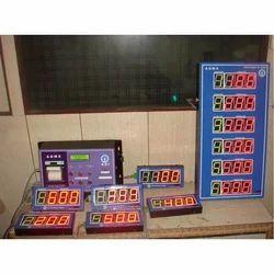 Token Number Display