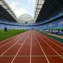Pre-Fabricated Athletic Track