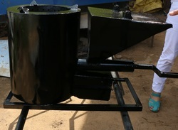 smokeless biomass pellet stove