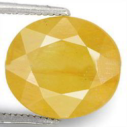8.59 Carats Yellow Sapphire