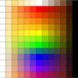 Tinting Colours